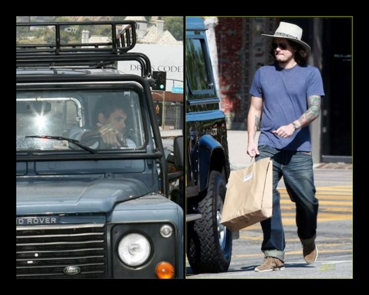 Land Rover Defender Milik John Mayer. (Kolase/Celebrity Cars Blog)